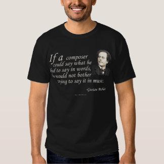 Mahler on Composing Tee Shirt