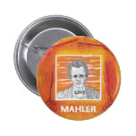 Mahler Pinback Button