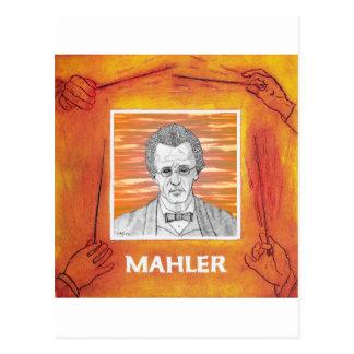 Mahler Tarjeta Postal
