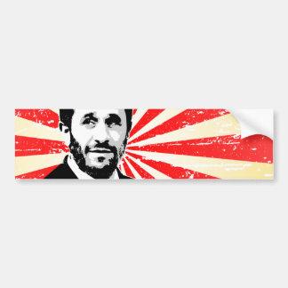 Mahmoud Ahmadinejad Bumper Sticker