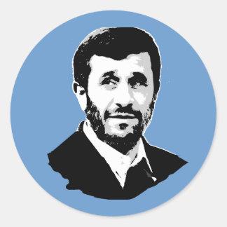 Mahmoud Ahmadinejad Classic Round Sticker