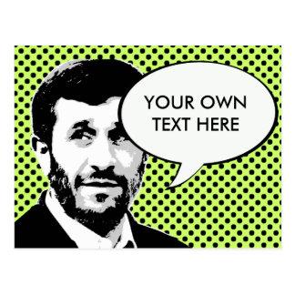 Mahmud Ahmadineyad Tarjeta Postal