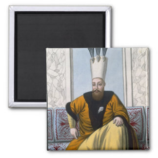 Mahmud I (1696-1754) Sultan 1730-54, from 'A Serie Magnet