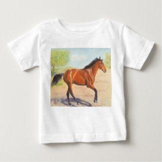 Mahogany Bay Horse Pastel Baby T-Shirt