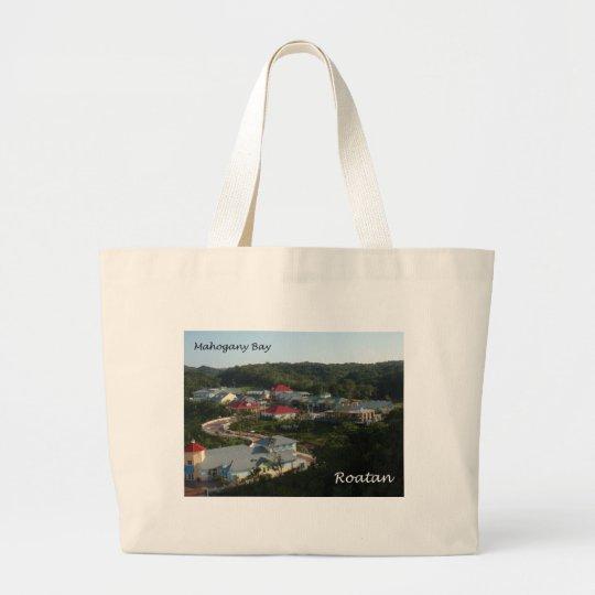 Mahogany Bay, Roatan Large Tote Bag