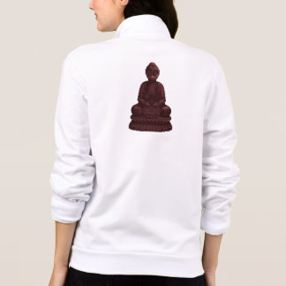 Mahogany Buddha Pixel Art Printed Jackets