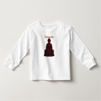 Mahogany Buddha Pixel Art T-shirt