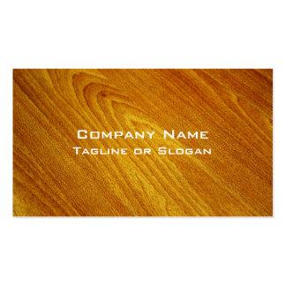 Mahogany Business Card Template