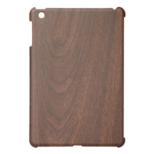 Mahogany Cherry wood pattern iPad Mini Covers