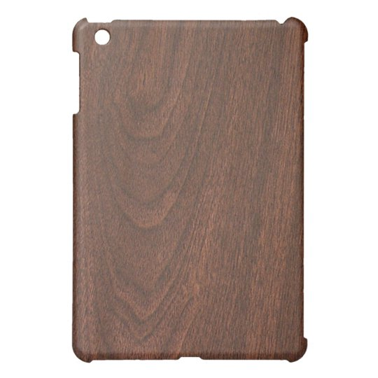 Mahogany Cherry wood pattern iPad Mini Cover