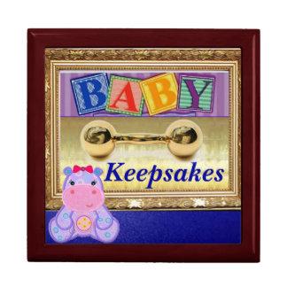 Mahogany Keepsake Box for Baby