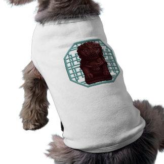 Mahogany Lion Dog Pixel Art T-Shirt