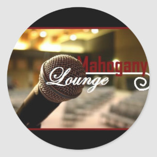 Mahogany Lounge Sticker