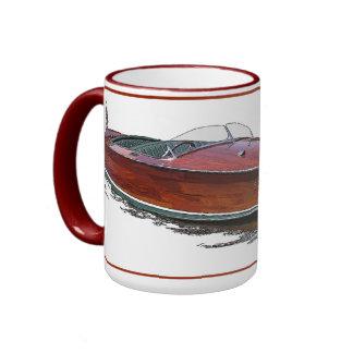 Mahogany Ringer Coffee Mug