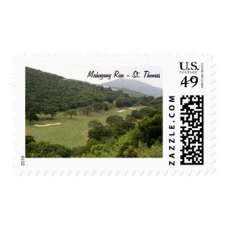 Mahogany Run Golf Course, St. Thomas Stamps