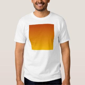 Mahogany to Amber Horizontal Gradient T-shirt