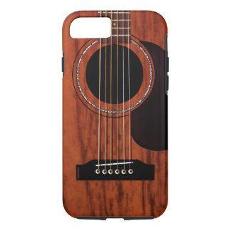 Mahogany Top Acoustic Guitar iPhone 7 Case