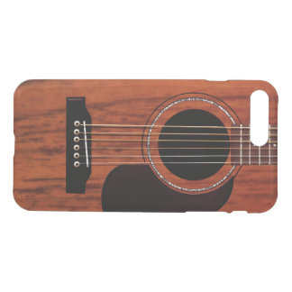 Mahogany Top Acoustic Guitar iPhone 7 Plus Case