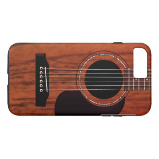 Mahogany Top Acoustic Guitar iPhone 8 Plus/7 Plus Case