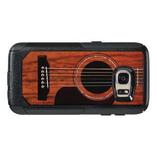 Mahogany Top Acoustic Guitar OtterBox Samsung Galaxy S7 Case