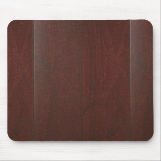MAHOGANY Wood Finish BUY Blank Blanche add TEXT Mouse Pad