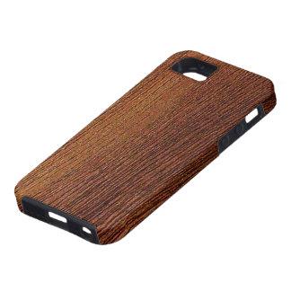 Mahogany Wood Grain iPhone 5 Case