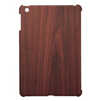 Mahogany Wood Texture Cover For The iPad Mini