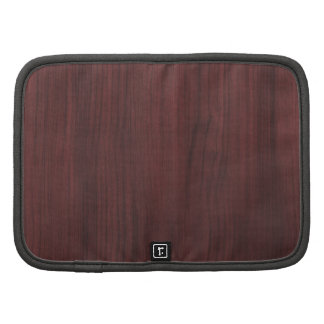 Mahogany wood texture organizers