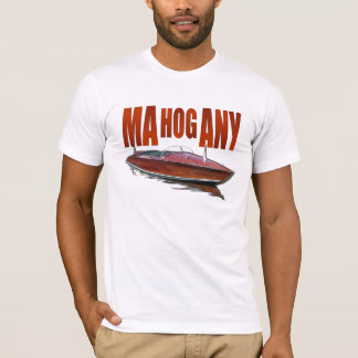 Mahognay powerboat T-Shirt