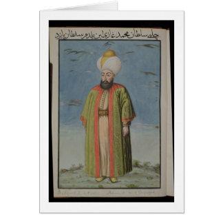 Mahomet (Mehmed) I (1387-1421), Sultan 1413-21, fr Card