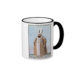 Mahomet (Mehmed) III (1566-1603) Sultan 1595-1603, Ringer Coffee Mug
