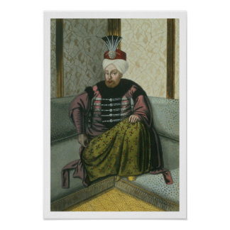 Mahomet (Mehmed) IV (1642-93) Sultan 1648-87, from Poster