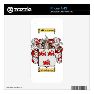 Mahon iPhone 4 Decal