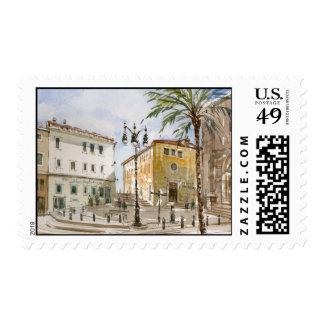 Mahon, sello de España