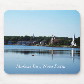 Mahone Bay, Nova Scotia Mouse Pad