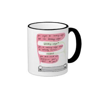 Mahoney Joe - Bleeding Edge Ringer Coffee Mug