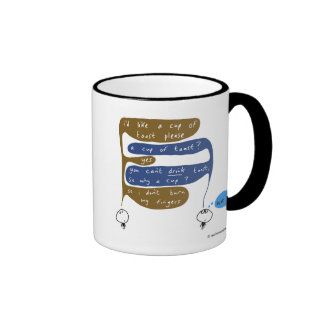 mahoney joe - cup of toast ringer coffee mug