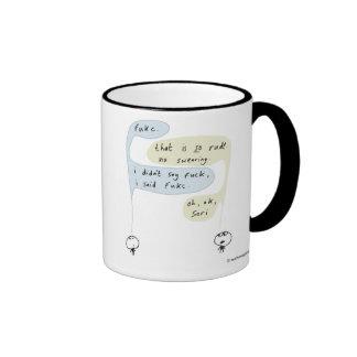 Mahoney Joe - FUKC Ringer Coffee Mug