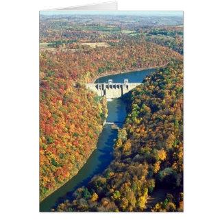 Mahoning Creek Lake and Dam Greeting Card