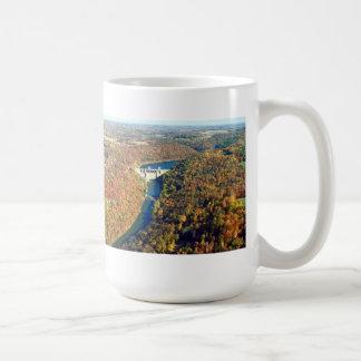 Mahoning Creek Lake and Dam Classic White Coffee Mug