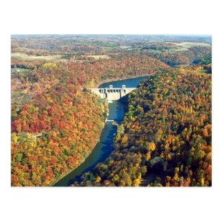 Mahoning Creek Lake and Dam Postcard