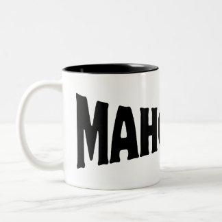 MAHOOSIVE Two-Tone COFFEE MUG