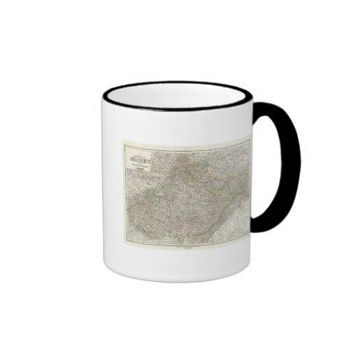 Mahren, Oesterr Schlesien Ringer Coffee Mug