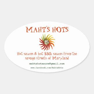 Maht's Hots - Stickers
