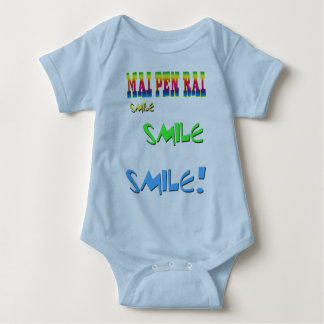 Mai Pen Rai Thailand Philosophy It Doesn't Matter Baby Bodysuit