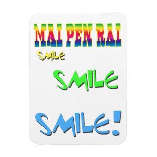 Mai Pen Rai Thailand Philosophy Magnet