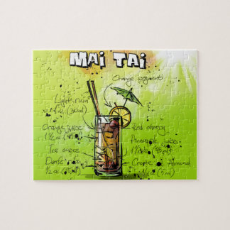 Mai Tai - Cocktail Gift Jigsaw Puzzle