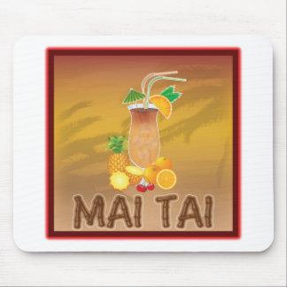 Mai Tai Cocktail Mouse Pad