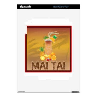 Mai Tai Cocktail Skin For iPad 2