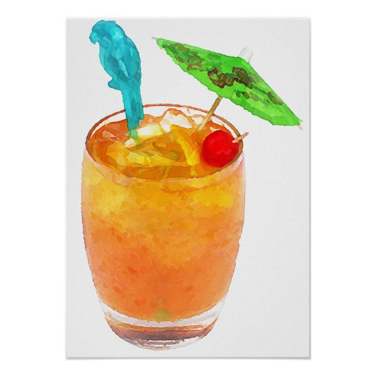 Mai Tai One On Poster